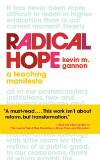 Cover of Radical Hope: A Teaching Manifesto