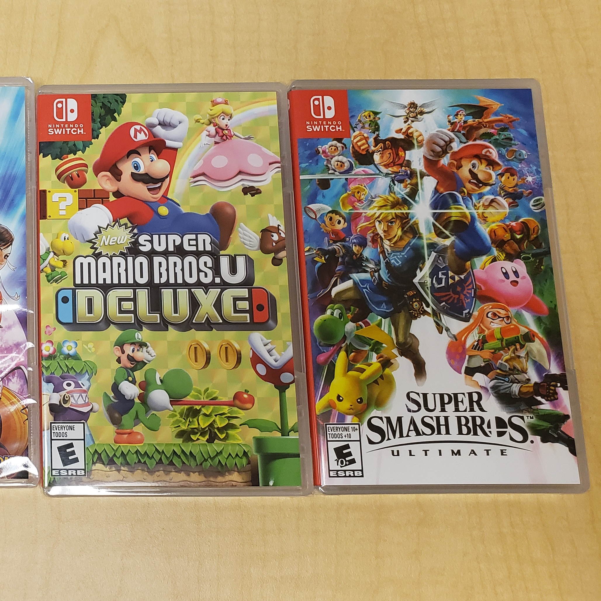 Nnitendo Switch games