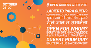 Open Access Week 2019