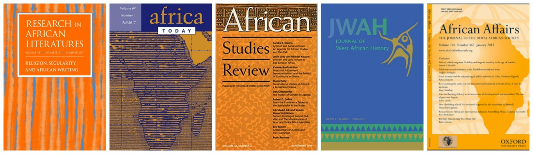 african journal covers