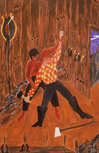 Jacob Lawrence, The Slave