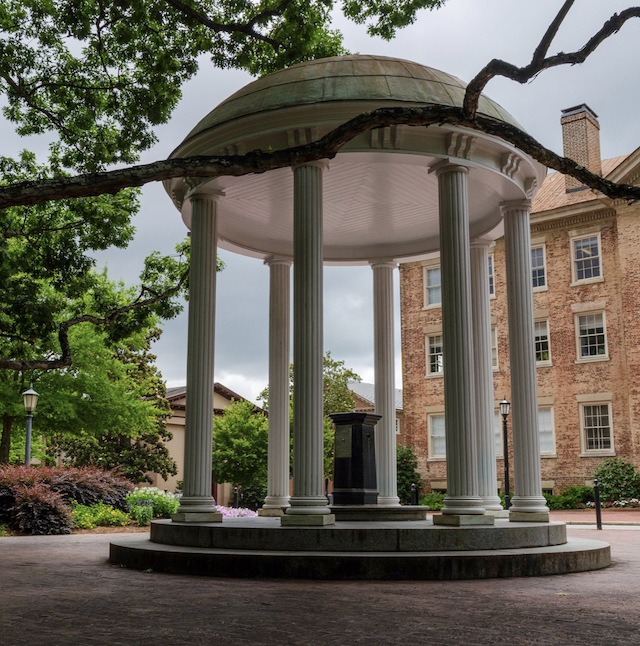 Photo of the Old Well on a cloudy day