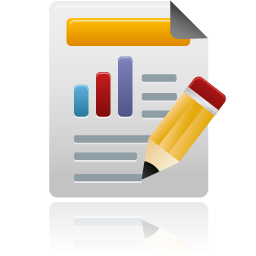 Custom reports Icon from IconArchive