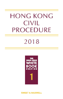 Hong Kong civil procedure 2018