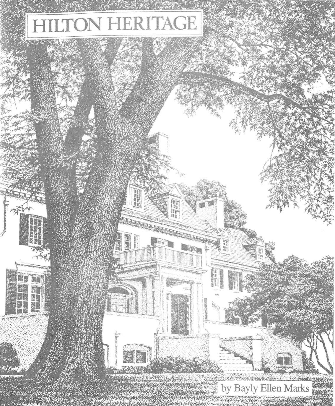 Hilton heritage book cover