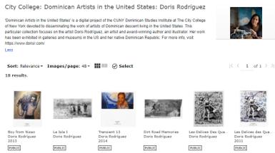 Dominican Artist Doris Rodriguez