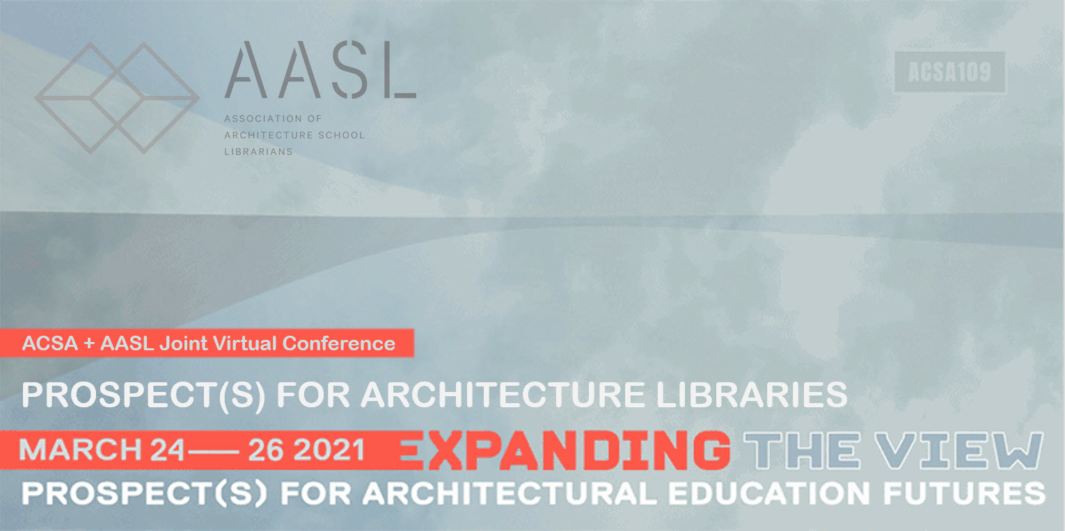 AASL/ACSA 2021 Joint Coference Logo