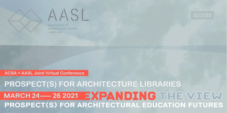 AASL/ACSA 2021 Joint Coference Logo