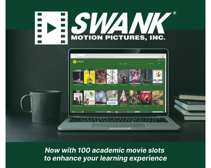 Click here to access the Swank streaming video service.