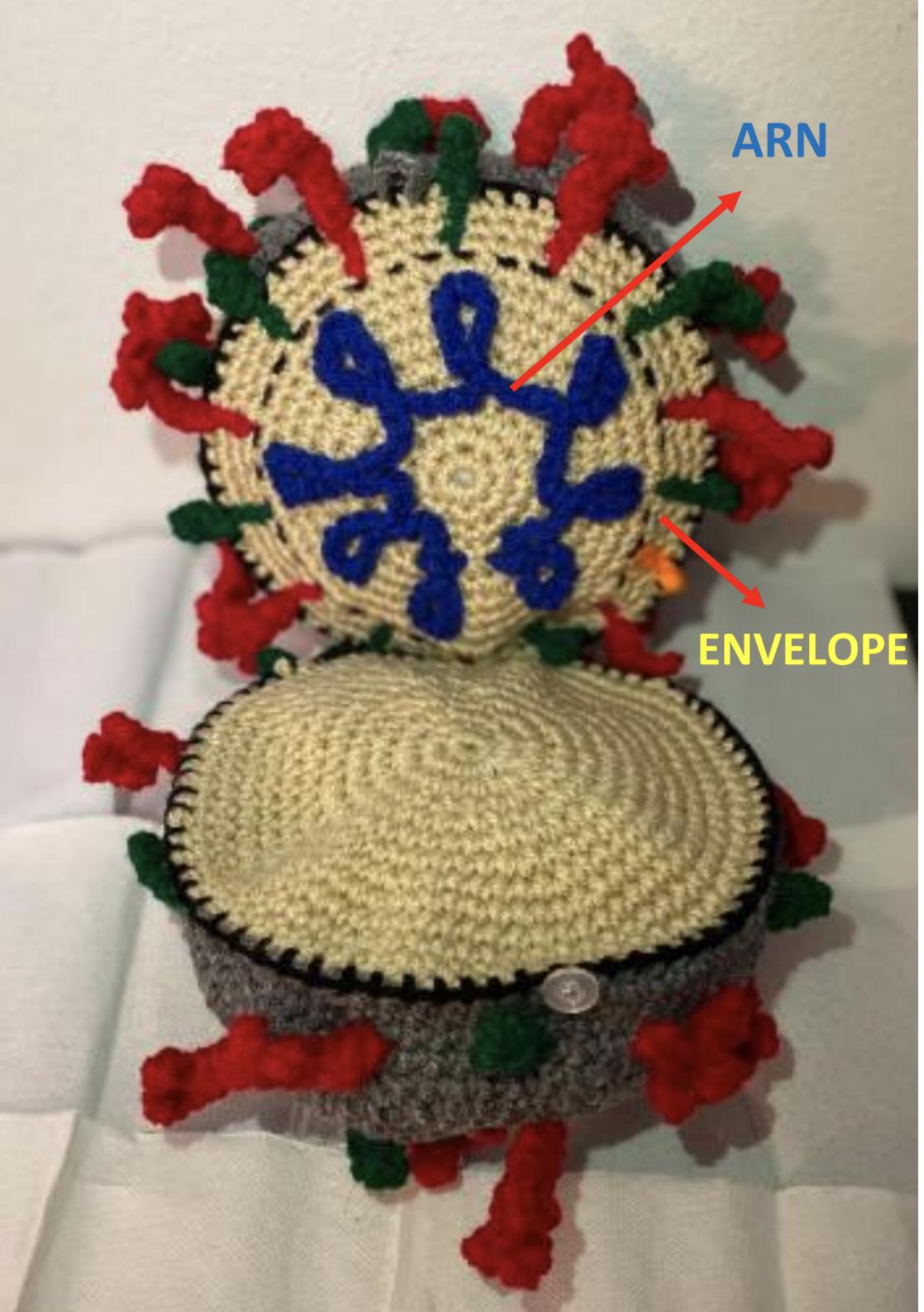 coronavirus virion toy