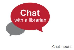 Chat with a Librarian logo - online chat reference
