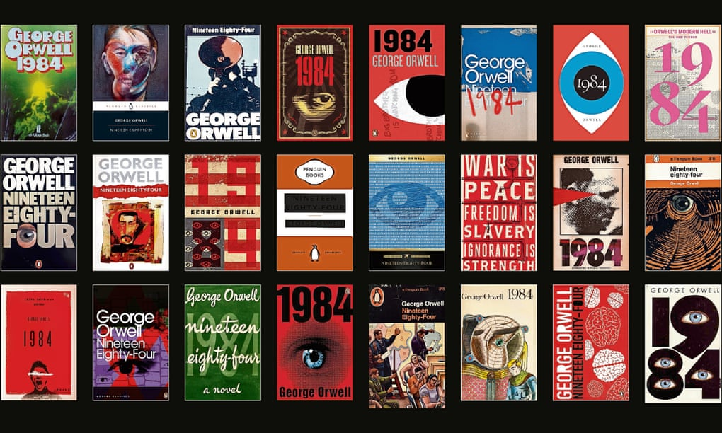 Dust Jackets for 1984 by George Orwell