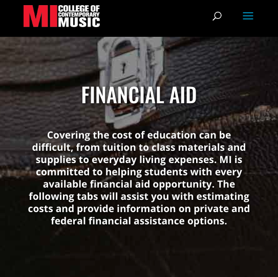 Financial Aid Facts & Additional Resources