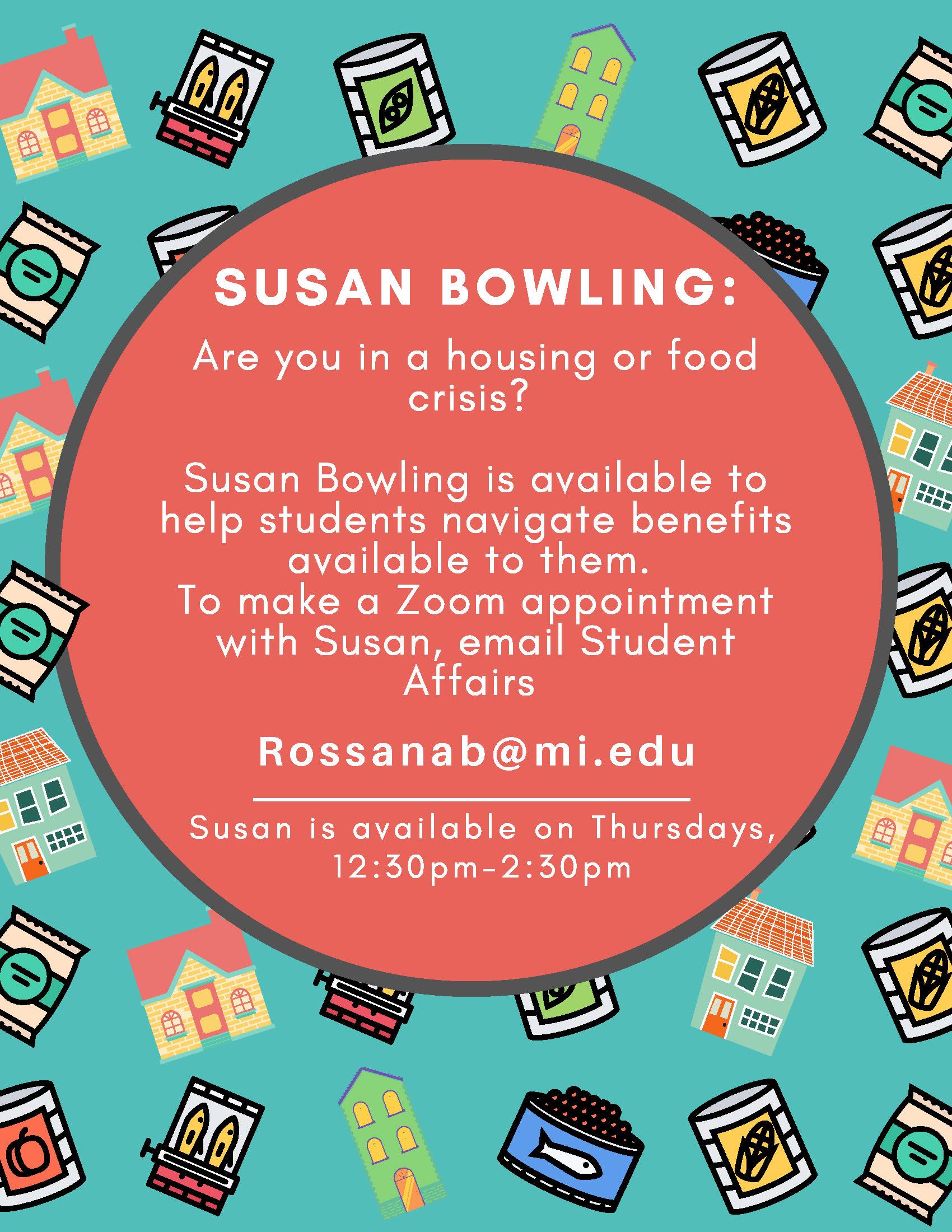 Susan Bowling Information