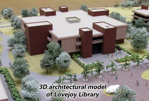 3D architectural model by Gyo Obata