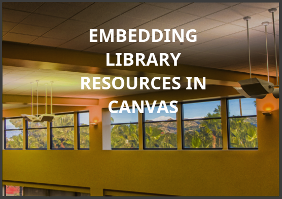 EMBEDDING IN CANVAS