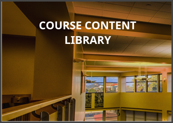 course content library