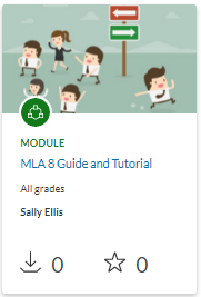 MLA 8 Guide and Tutorial