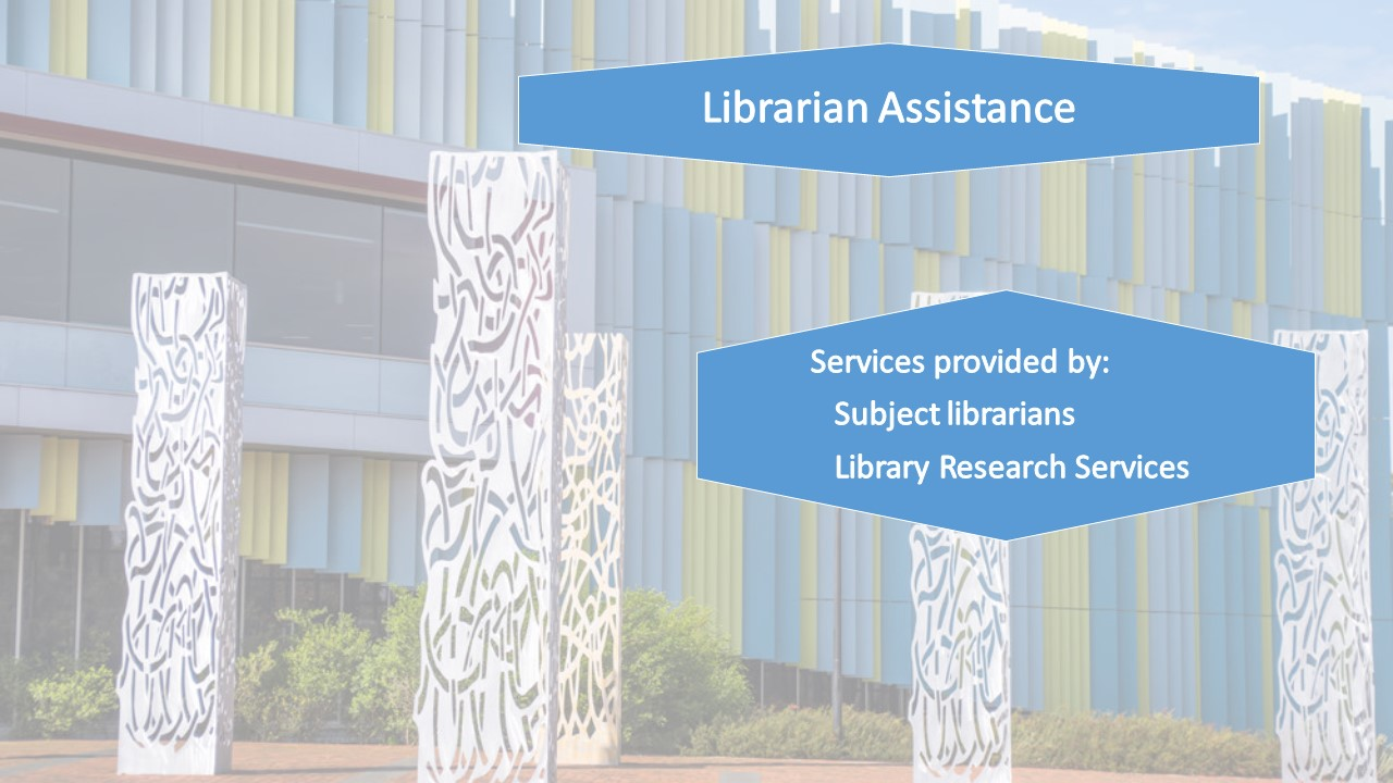 Librarian Assistance
