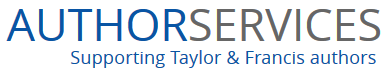 Image of Author Services supporting Taylor & Francis authors