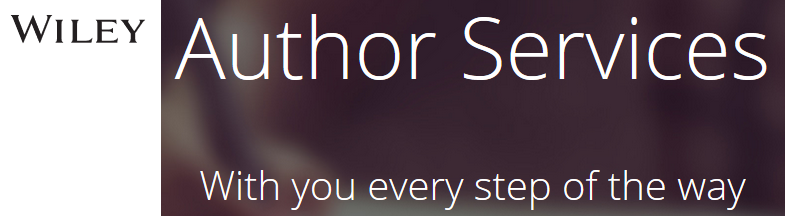 Image showing Wiley Author Services with you every step of the way
