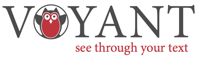 "Voyant logo with VOYANT in charcoal lettering and an Owl in the O, stubtitled ""see through your text"""