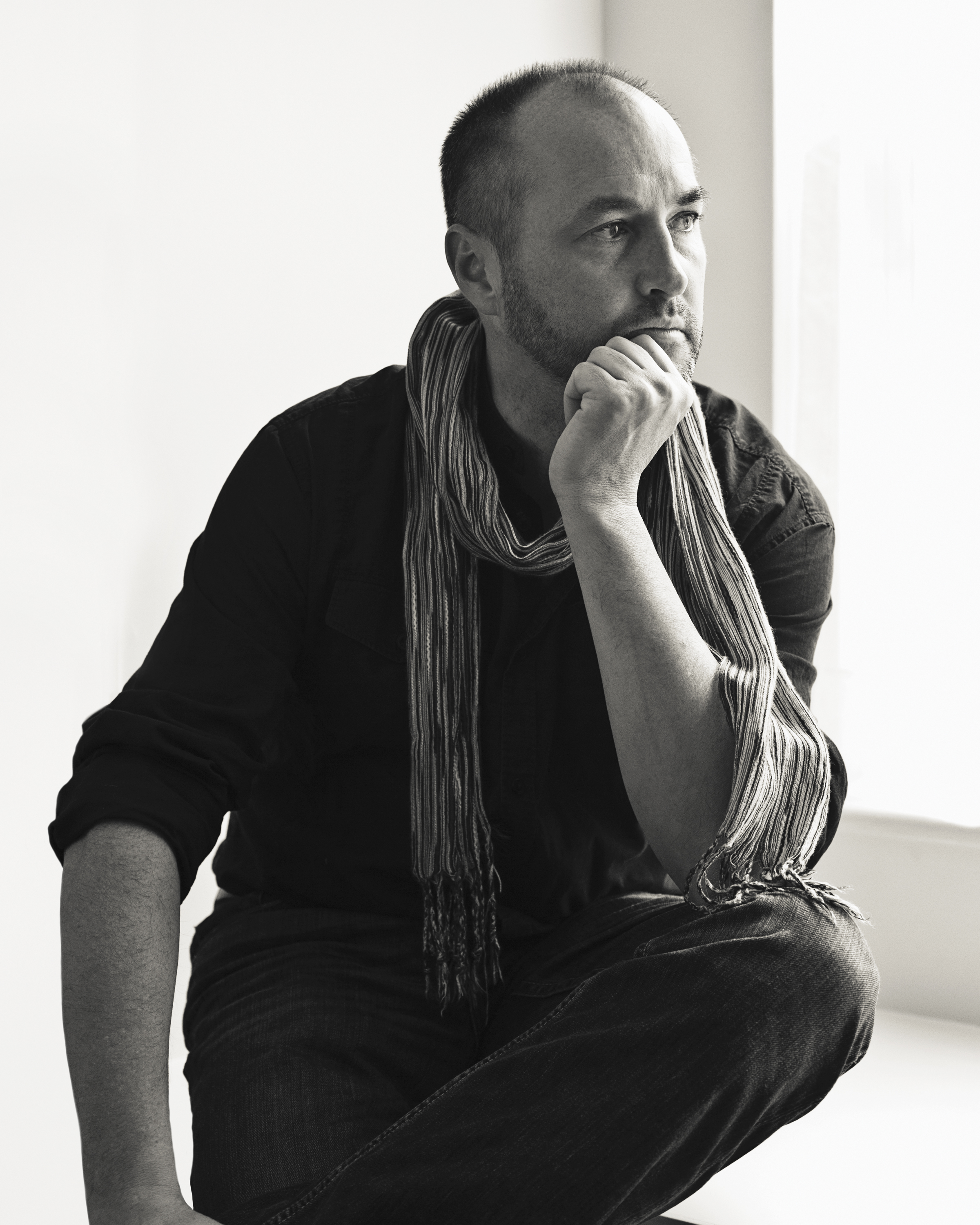 Photo of Let the Great World Spin author Colum McCann. Cedit Dustin Aksland