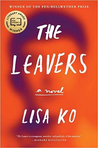 Cover of Lisa Ko's novel The Leavers