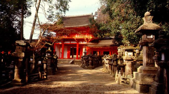 Japanese Architecture Kashuga Shrine