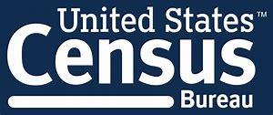 Logo that reads United States Census Bureau