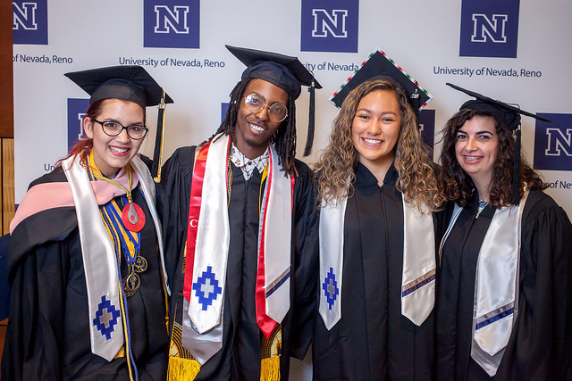 4 UNR graduates of varying diversity at commencement