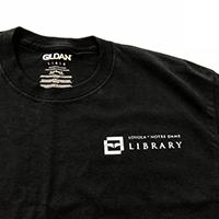 Logo t-shirt using iron-on vinyl