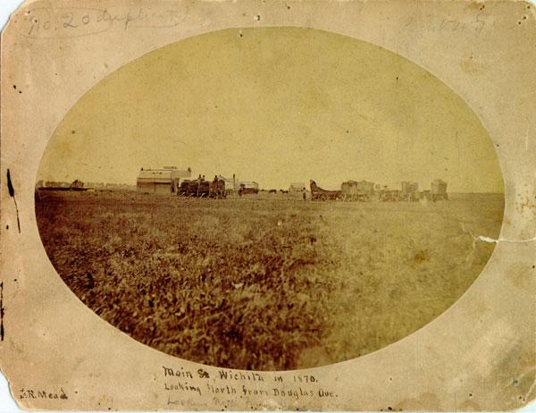 Wichita's Main Street, 1870