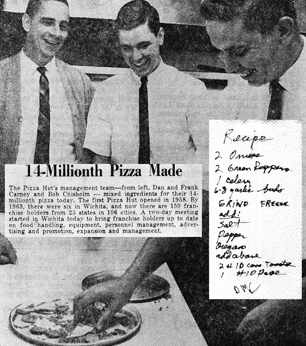 Frank and Dan Carney, and Bob Chisholm 1966