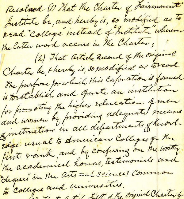 Document handwritten by Dr. Nathan J. Morrison 1896