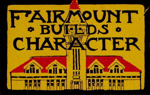 Fairmount College Sign