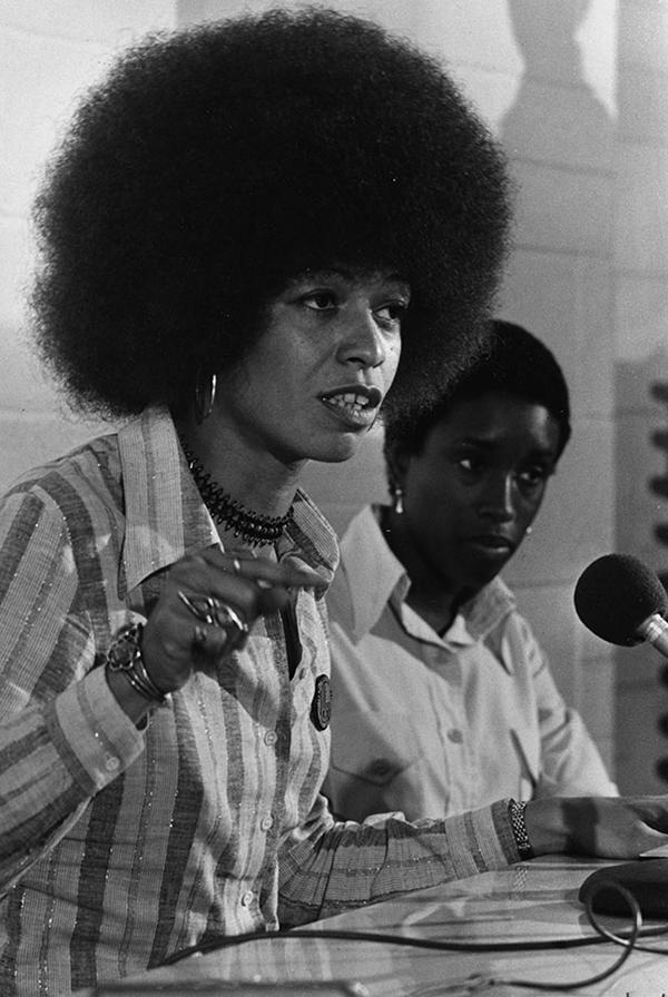 Angela Davis 1974