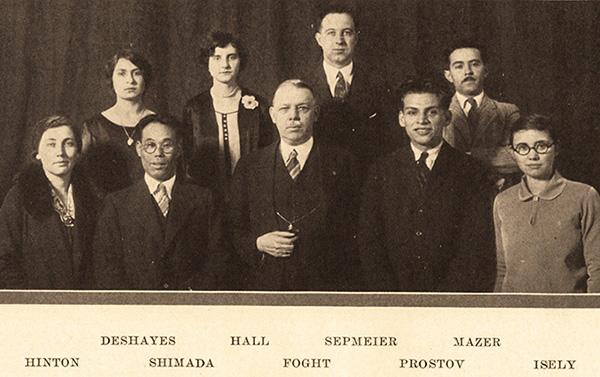 First international students at WSU