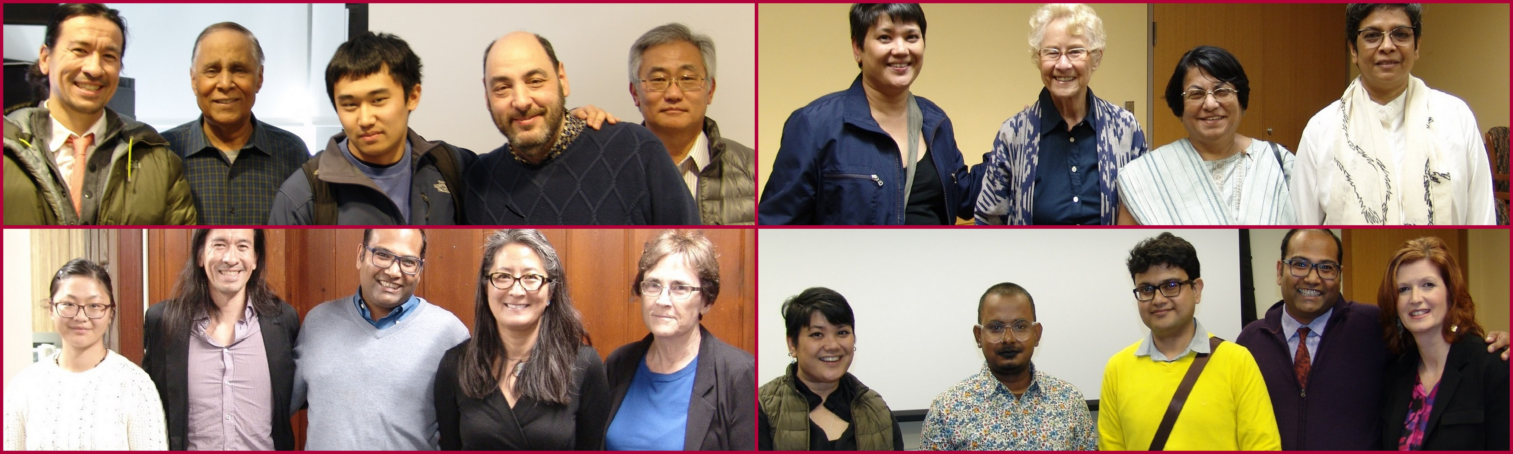 Photo gallery of the UConn Asian American Studies Institute Faculty