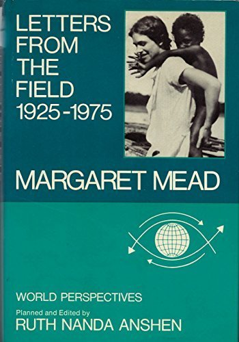 Cover of Margaret Mead's book, Letters from the Field 1925-1975