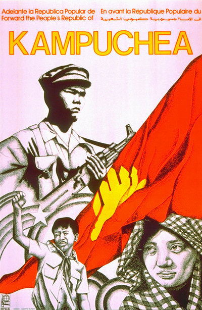 poster about Kampuchea