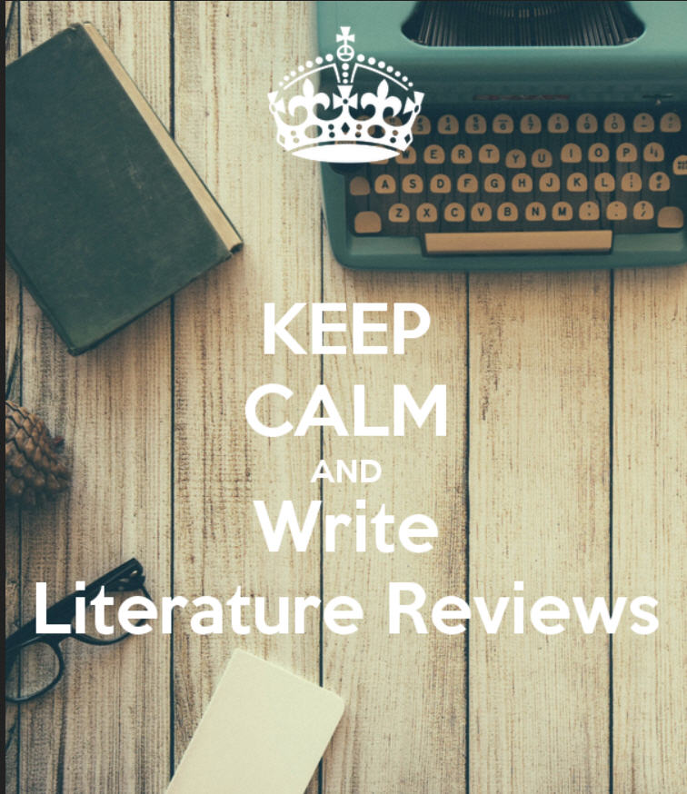 Poster: Keep Calm and Write Literature Reviews