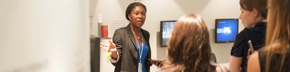 Image of woman teaching