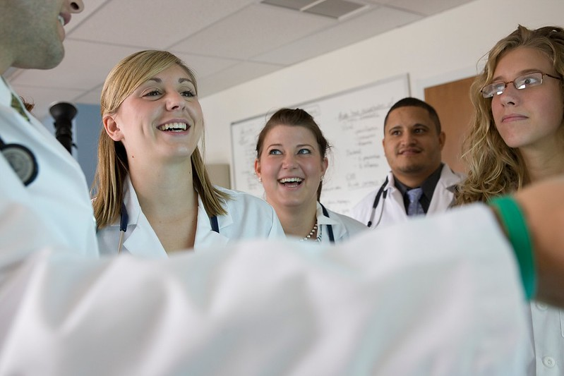 Physician assistant students