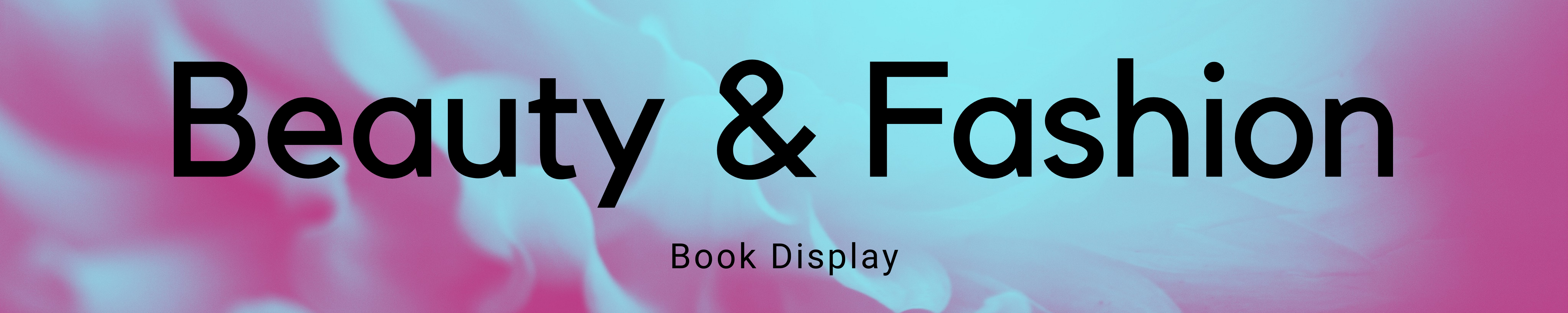 Book Display: Beauty and Fashion