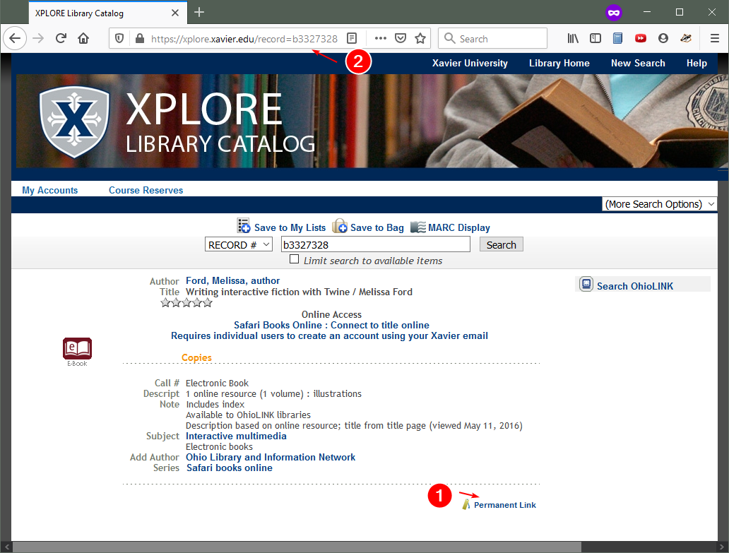 XPLORE eBooks