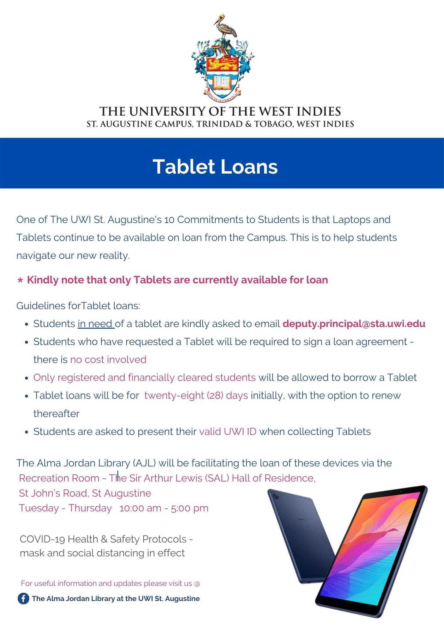 Tablet Loans Flyer - 150920