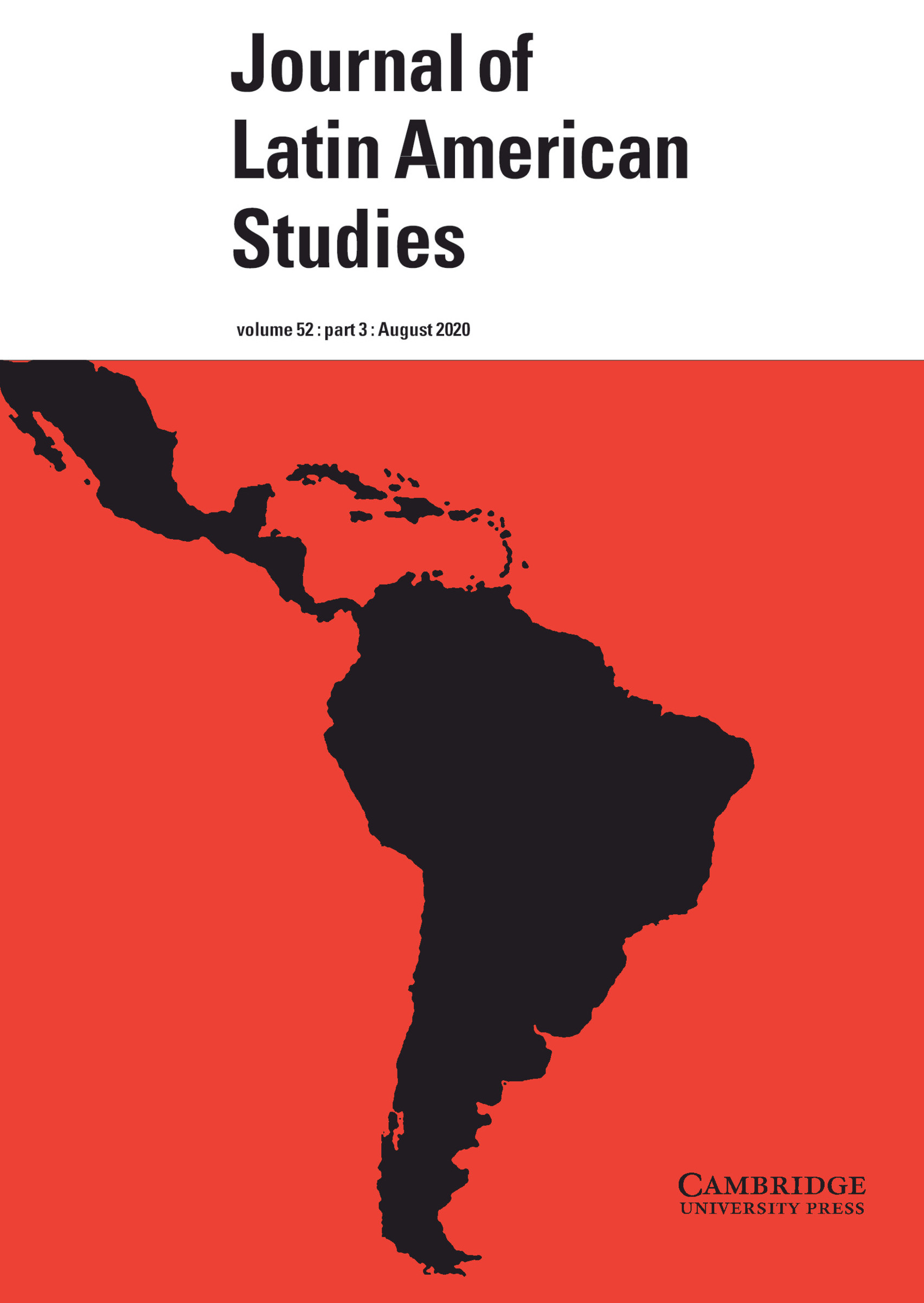 Journal of Latin American Studies publication cover