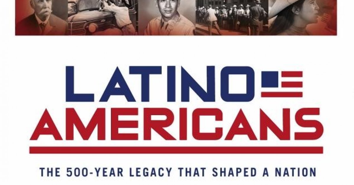 Latino Americans PBS documentary graphic