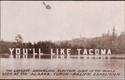 You'll Like Tacoma postcard